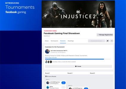 На платформе Facebook Gaming запускается функция организации турниров – Tournaments