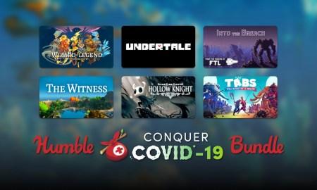 Humble запустил благотворительный бандл Humble Conquer COVID-19 Bundle стоимостью $30, все собранные средства пойдут на борьбу с коронавирусом