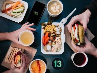 Сервис по доставке еды из ресторанов Uber Eats запустился в Днепре