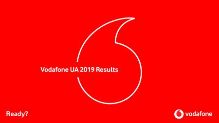 Vodafone Украина объявил результаты 2019 года: доход 15,9 млрд грн (+25%) и чистая прибыль 2,5 млрд грн (+45%) за счет заметного роста мобильного интернета