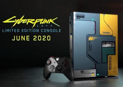 Microsoft выпустит специальную версию Xbox One X в стилистике Cyberpunk 2077