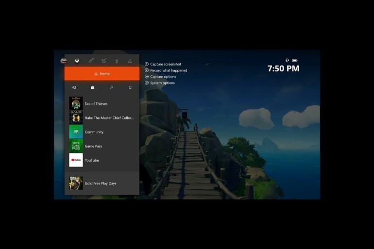 Microsoft улучшила интерфейс панели инструментов консоли Xbox One