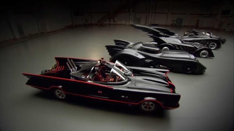 Warner Bros. бесплатно выложили в сеть документальный фильм об эволюции Бэтмобиля [видео]