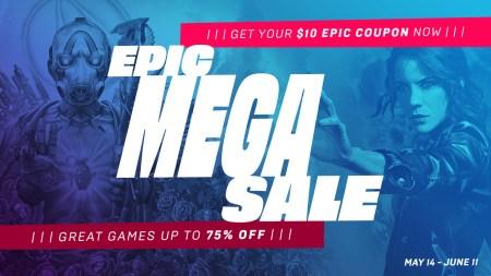 В Epic Games Store стартовала «Мегараспродажа Epic 2020» со скидками на игры до 75% и бесплатным купоном на 300 грн