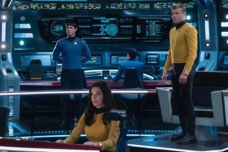 Новый сериал «Star Trek: Strange New Worlds» для CBS All Access расскажет о приключениях молодого Пайка, Спока и Number One [тизер]