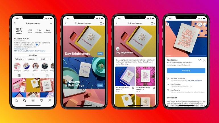Facebook запускает Shops – торговые площадки прямо в соцсетях Facebook и Instagram