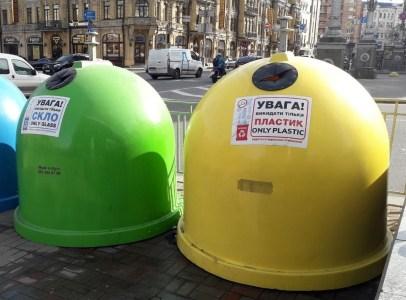 КГГА: Киев приобрел 1000 новых контейнеров для раздельного сбора отходов, увеличив «экологическую» сеть до 3,5 тыс. баков