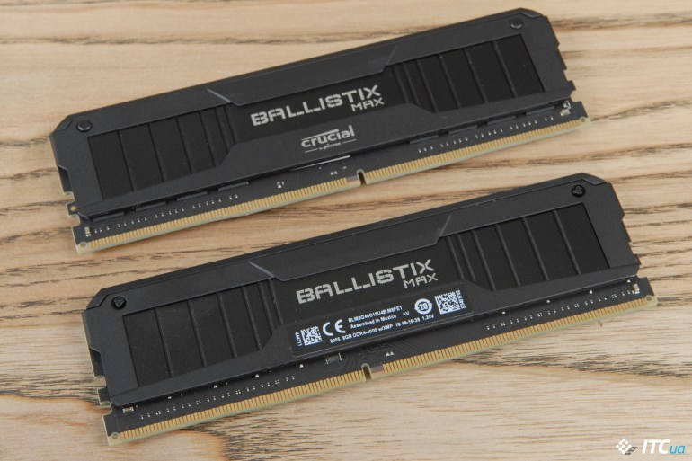 Обзор комплектов памяти Crucial Ballistix DDR4-3600 16 ГБ и Ballistix MAX DDR4-4000 16 ГБ