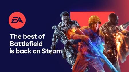 EA добавила в Steam пять частей Battlefield, серию Star Wars: Battlefront, а также Mass Effect 3 и Andromeda