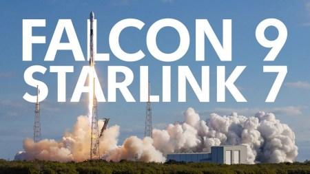 SpaceX в пятый раз запустила одну и ту же первую ступень Falcon 9 с миссией Starlink 7. Группировка интернет-спутников увеличилась до 480 штук