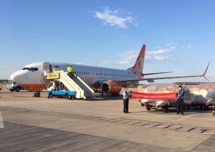 «Нова пошта» запустила второй еженедельный авиарейс из Китая, за один раз перевозится до 20 тонн грузов