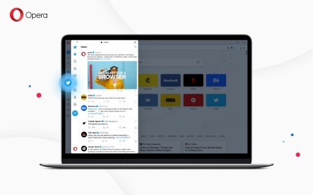 Новая версия браузера Opera получила встроенный Twitter, обновленный виджет погоды и другие улучшения