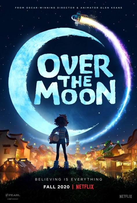 """Netflix снял фантастический мультфильм """"Over the Moon"""" о маленькой китаянке, которая самостоятельно собрала ракету для полета на Луну [трейлер]"""