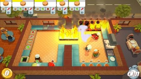 В Epic Games Store бесплатно предлагают кулинарный симулятор Overcooked