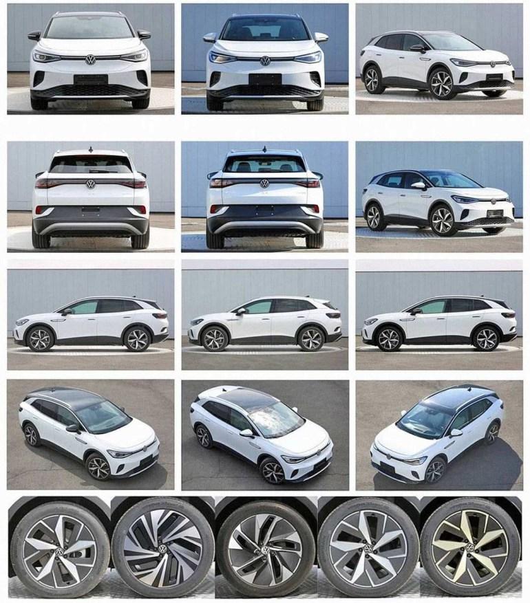 В сеть впервые попали фотографии электромобиля Volkswagen ID.4 без камуфляжа, в Китае будет выпускаться сразу две версии модели - ID.4 X и ID.4 Crozz