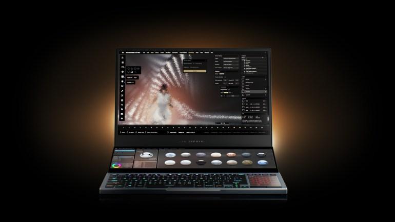 В Украине начинаются продажи игрового ноутбука ASUS ROG Zephyrus Duo 15 по цене от 100 тыс. грн