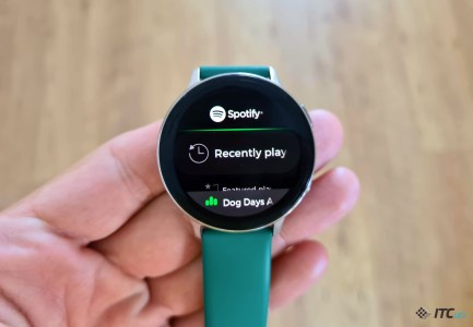 Spotify в Украине появился на часах и спортивных браслетах Samsung