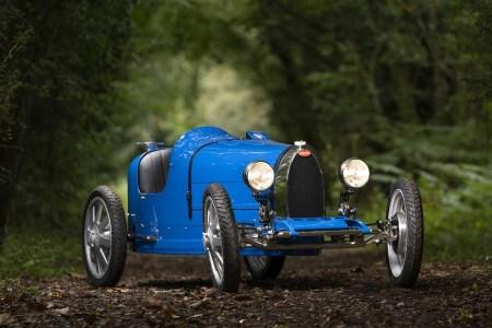 Bugatti показала финальную версию ретро-электромобиля Bugatti Baby II стоимостью от $35 тыс. до $70 тыс.