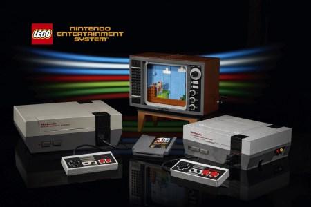 Lego официально представила набор Nintendo Entertainment System и показала видео «геймплея»