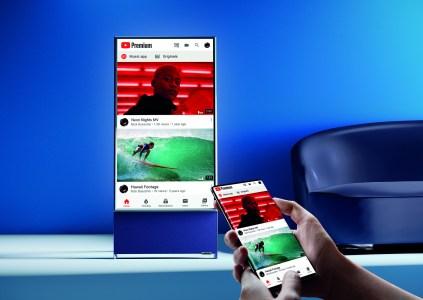За 39 999 грн. Вертикальный 4K-телевизор Samsung The Sero начал продаваться в Украине