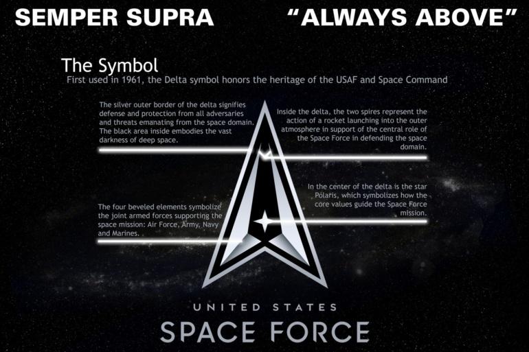 Космические силы США представили финальную версию эмблемы Space Force и объяснили, почему она не похожа на вариант из Star Trek