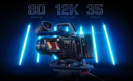 Новая камера Blackmagic Design Ursa Mini Pro 12K стоимостью $10 тыс. способна записывать 12K-видео с частотой 60 кадров в секунду