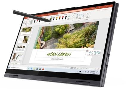 Lenovo анонсировала обновлённые ноутбуки Yoga 7i и Yoga 6 с новыми процессорами Intel и AMD