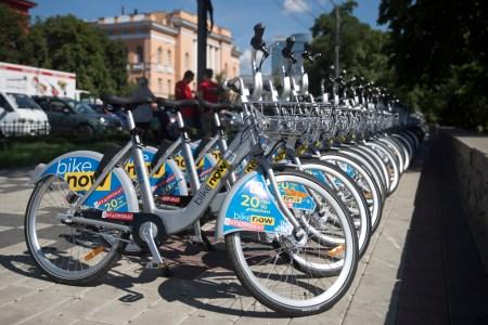 Киевский сервис велопроката NextBike/BikeNow отпраздновал двухлетие и увеличил свой велопарк до 2000 велосипедов