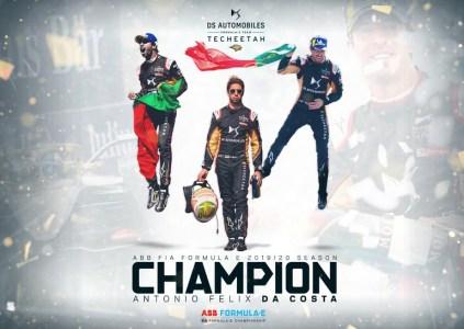 Антониу Феликс да Кошта досрочно стал чемпионом Formula E сезона 2019–20, команда DS Techeetah завоевала Кубок конструкторов