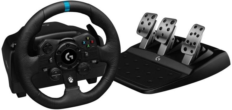 Logitech представила новый игровой руль Logitech G923 с поддержкой технологии обратной связи TrueForce для ПК, PS и Xbox по цене $400