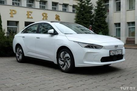 В 2021 году в Беларуси запустят сборку электромобилей на основе китайской модели Geely Geometry A с запасом хода 500 км, до конца года планируют продать более 1000 штук по цене менее $28,600