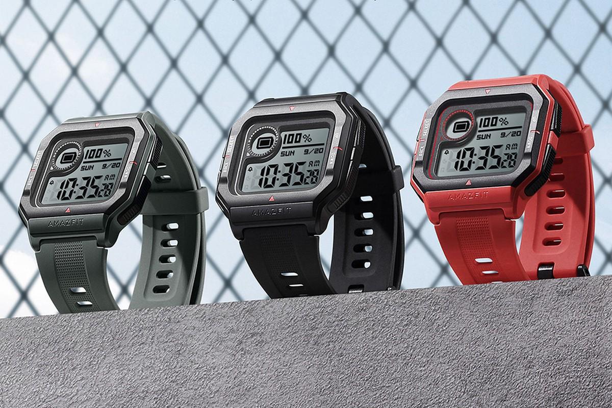 Huami Amazfit Neo - умные часы в ретро-стиле с постоянно включенным экраном  и месячной автономностью по цене $40 - ITC.ua