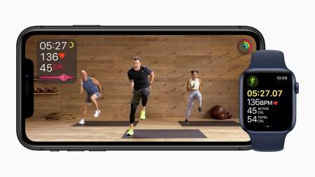 Apple Fitness+ — фитнес-сервис для Apple Watch с тренировками и музыкой