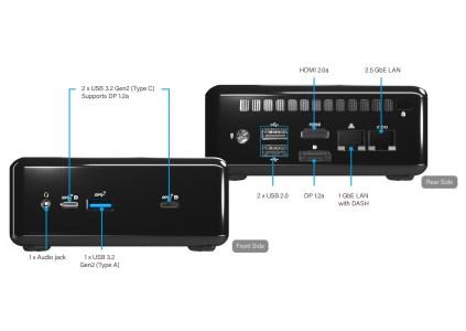 ASRock Industrial анонсировала компактные UCFF системы 4×4 BOX-4000 с APU AMD Ryzen 4000U (Renoir)
