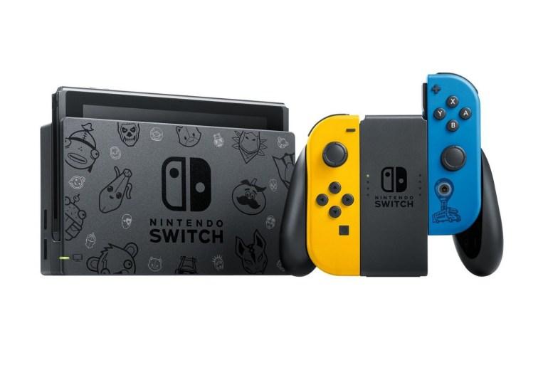Nintendo представил специальную Fortnite-версию игровой консоли Switch, продажи стартуют 30 октября