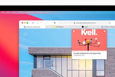 Вышла новая версия браузера Safari 14 с улучшенной работой вкладок