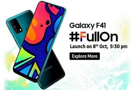 Galaxy F — новая линейка недорогих камерофонов Samsung. Первенец Galaxy F41 выходит 8 октября