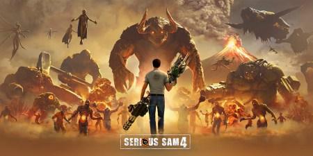 Croteam выложила сюжетный трейлер шутера Serious Sam 4 за два дня до релиза игры [видео]