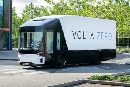Стартап Volta Trucks представил электрогрузовик Volta Zero с батареей на 160-200 кВтч для внутригородских доставок