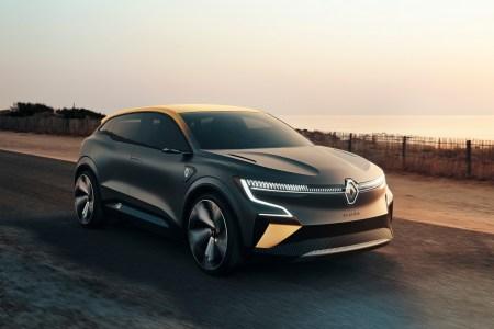 Renault Megane eVision – концепт электромобиля с мощностью 160 кВт, батареей на 60 кВтч и запасом хода 450 км