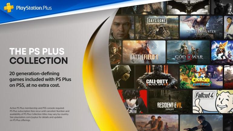 Sony подробно рассказала, как будет работать PS Plus Collection на PS5