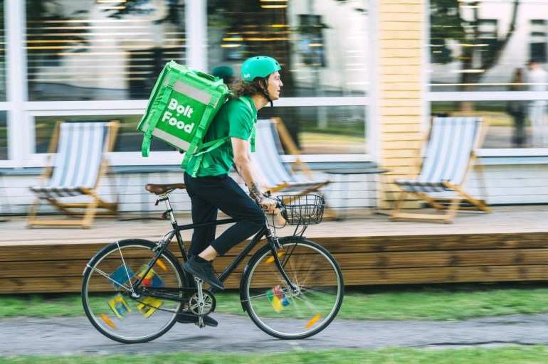 Bolt запускает сервис доставки еды Bolt Food в Киеве