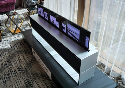LG начала продажи сворачиваемого 4K OLED-телевизора — «всего» $87 тыс.