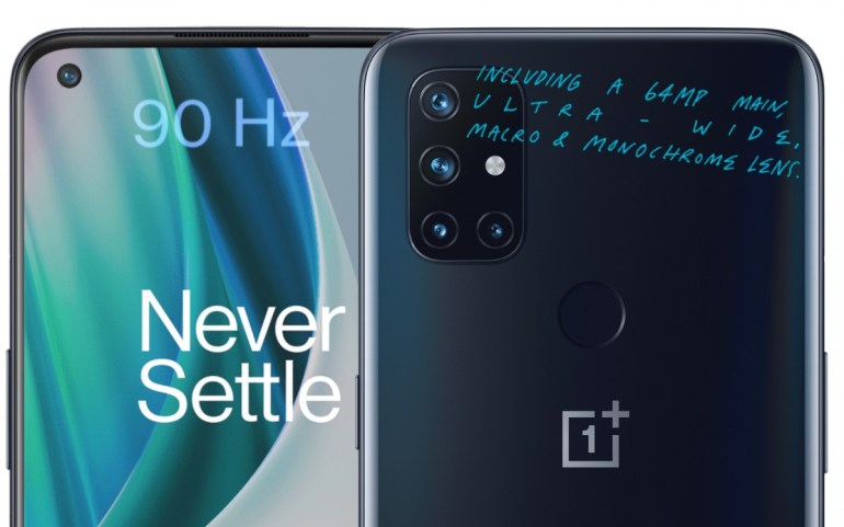 OnePlus официально анонсировала доступные смартфоны Nord N10 5G и N100