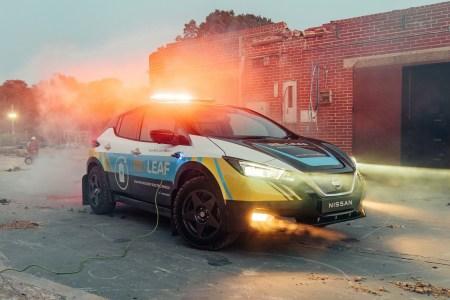 Nissan RE-LEAF — электромобиль-внедорожник для обеспечения энергией зон бедствий [фото, видео]
