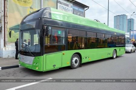 Харьков закупил 50 троллейбусов с автономным ходом до 30 км, которые собирают в Киевской области на основе модели МАЗ