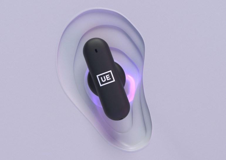 Беспроводные наушники UE Fits способны принимать уникальную форму ушной раковины пользователя для идеального ношения