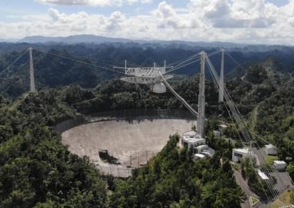 Получивший новые повреждения радиотелескоп Аресибо прекратит работу
