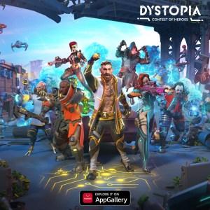 Игра Dystopia: Contest of Heroes вышла в Huawei AppGallery