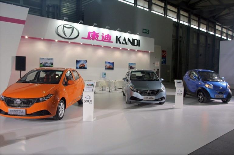 Китайский производитель доступных электромобилей Kandi привлек $100 млн инвестиций, которые пойдут в том числе на разработку электроспорткаров